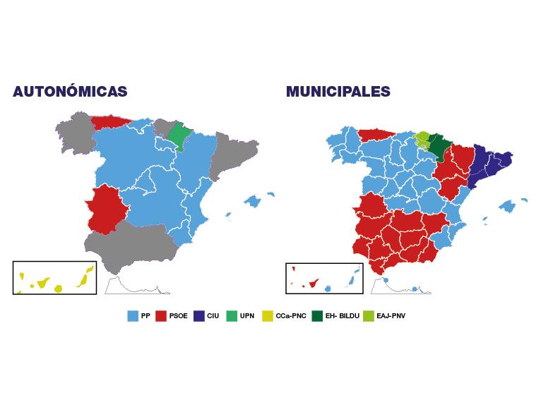 Resultados elecciones municipales y autonómicas